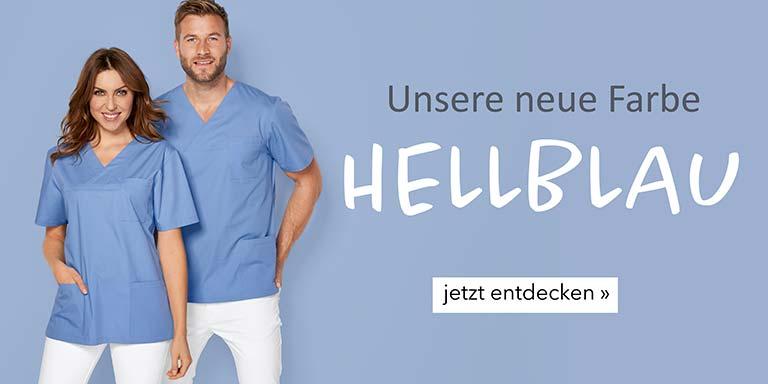 Teambekleidung - Farbe Hellblau