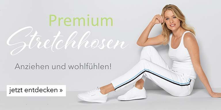 Damen Premium-Stretchhosen