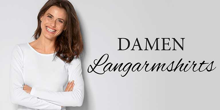 Damen-Langarmshirts