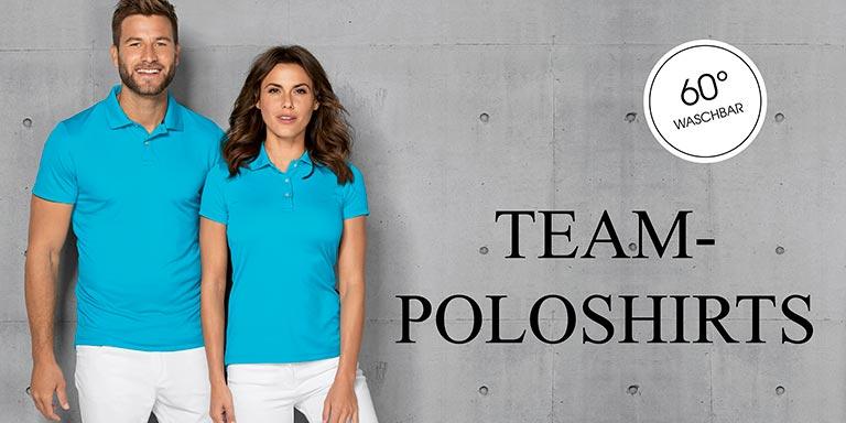 Poloshirts 60° waschbar
